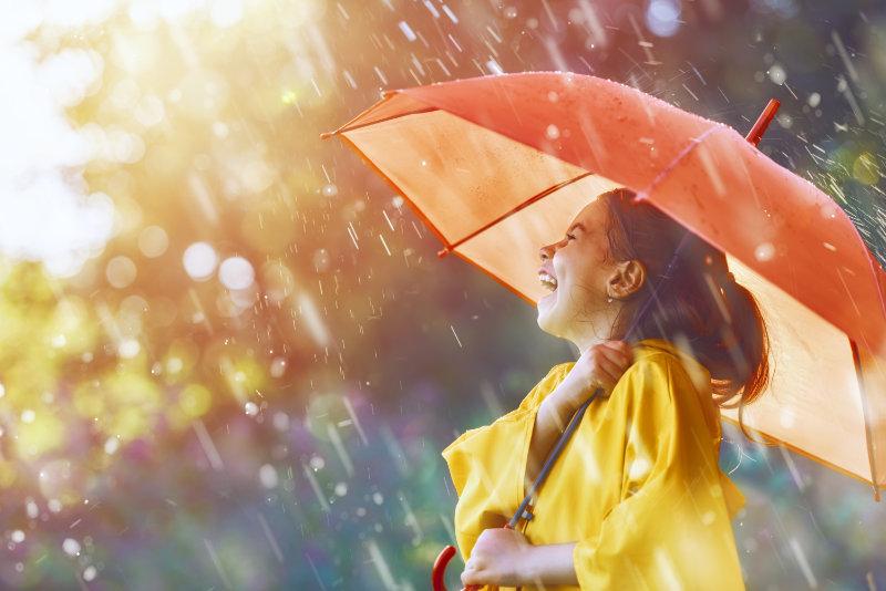 Différents types de parapluies