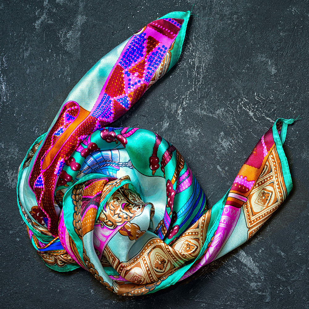Vente de foulards pour femme