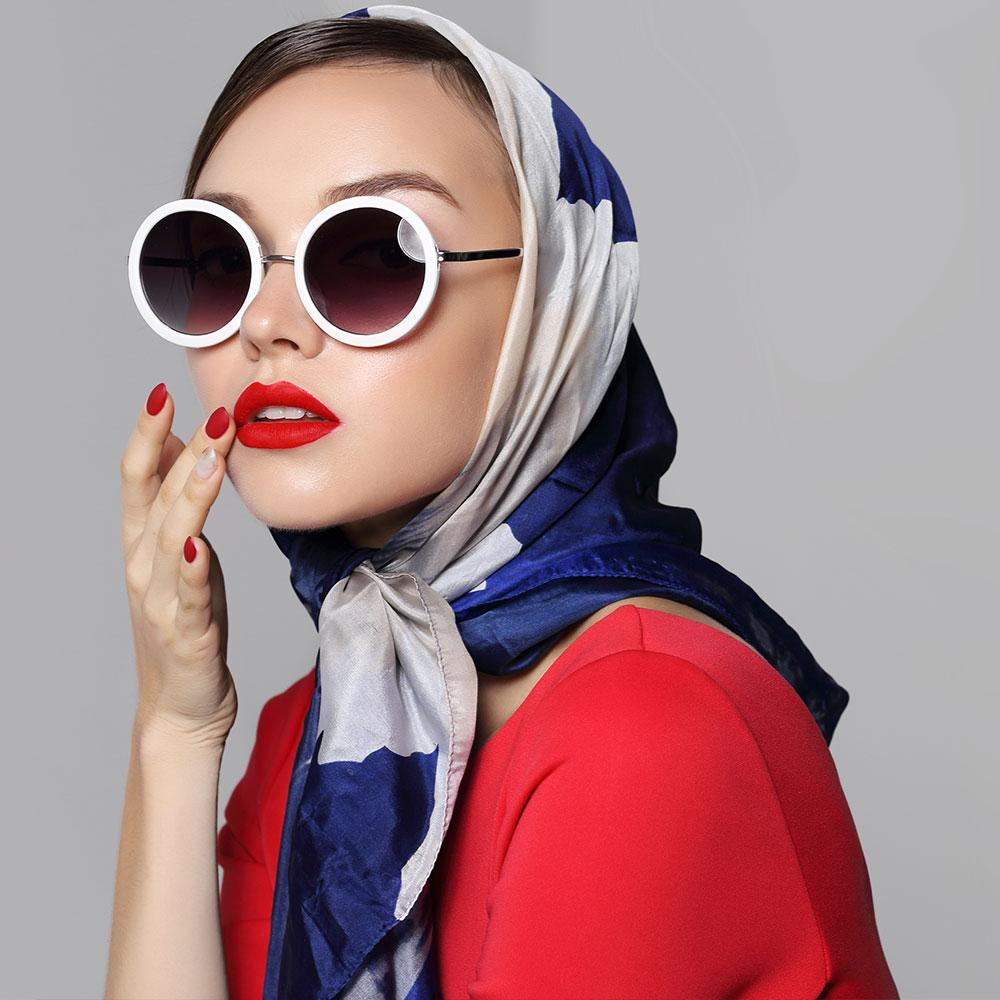 Une collection de foulards et étoles pour tous les goûts